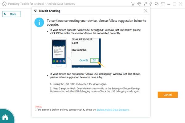 Conecte Samsung a la PC para recuperar fotos borradas
