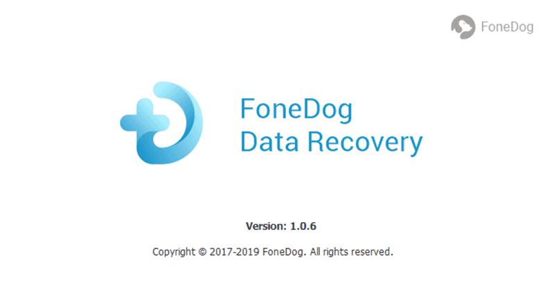 Comience la recuperación de datos de FoneDog para reparar una unidad flash dañada sin formatear