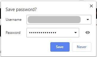 Verifique la configuración para arreglar que Google no guarde las contraseñas