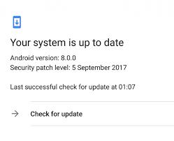 Buscar actualizaciones para arreglar mi volumen sigue bajando solo Android