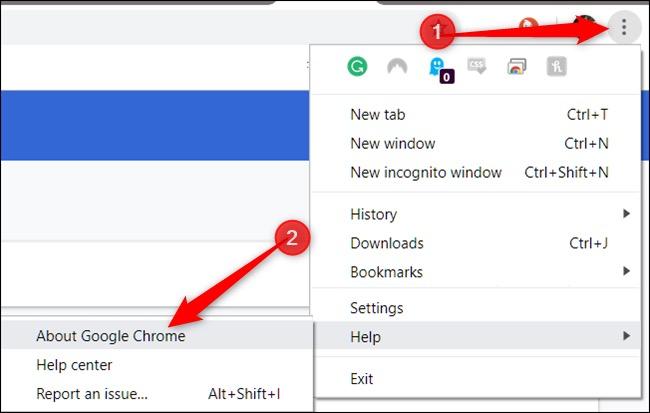 Verifique las actualizaciones disponibles para reparar las contraseñas de Google que no guardan