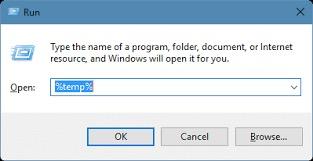 Limpie su carpeta TEMP para arreglar el códec de PowerPoint no disponible