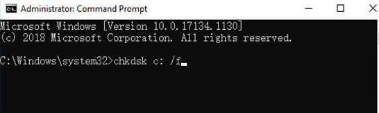 Para reparar una unidad flash dañada sin formatear con Check Disk