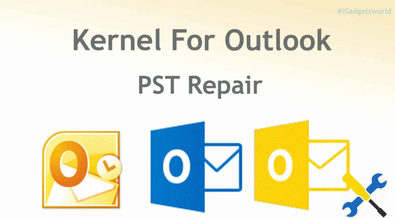Kernel para la reparación de Outlook PST