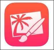 Aplicación Pixelmator para eliminar objetos de la imagen